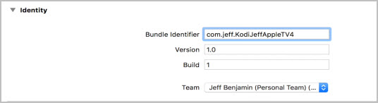 Bundle Identifier