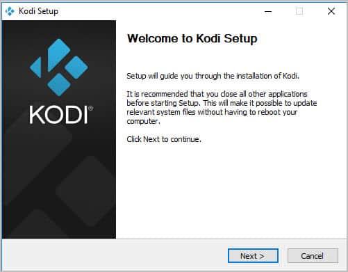 Willkommen beim Kodi-Setup