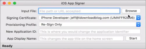 iOS App signer