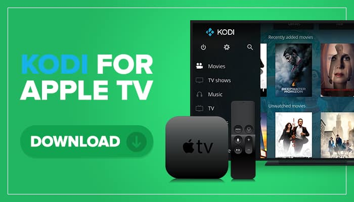 kodi for apple tv