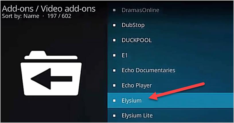 Elysium List
