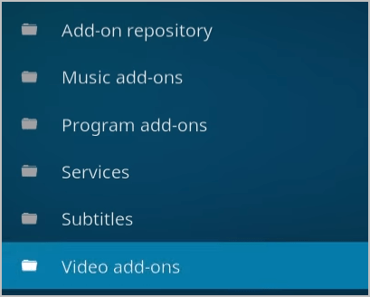 Video Addons