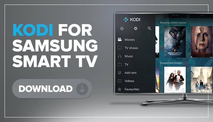 kodi for samsung smart tv